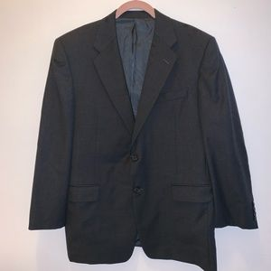 Hickey Freeman Men's Suit Gray